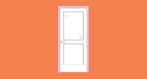 Half-lite Door