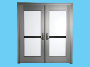 Full-lite FEMA Door