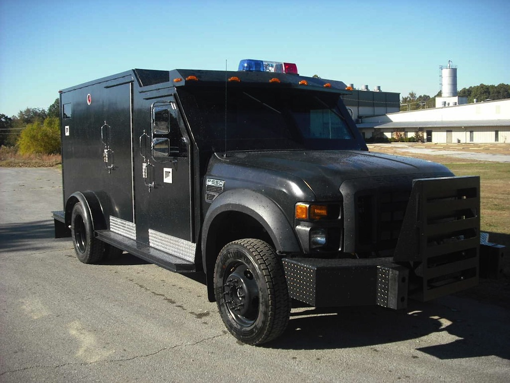 Bullet Resistant Rolling Command Centers